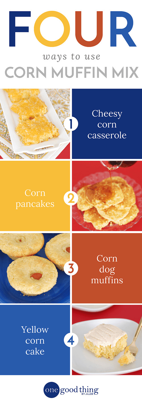Jiffy Cornbread Directions  4 Creative Things To Do With A Box Jiffy Mix · e Good