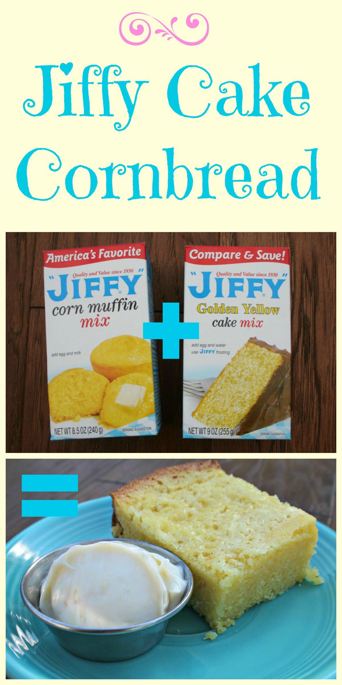 Jiffy Cornbread Mix Recipes  jiffy cornbread plus yellow cake mix