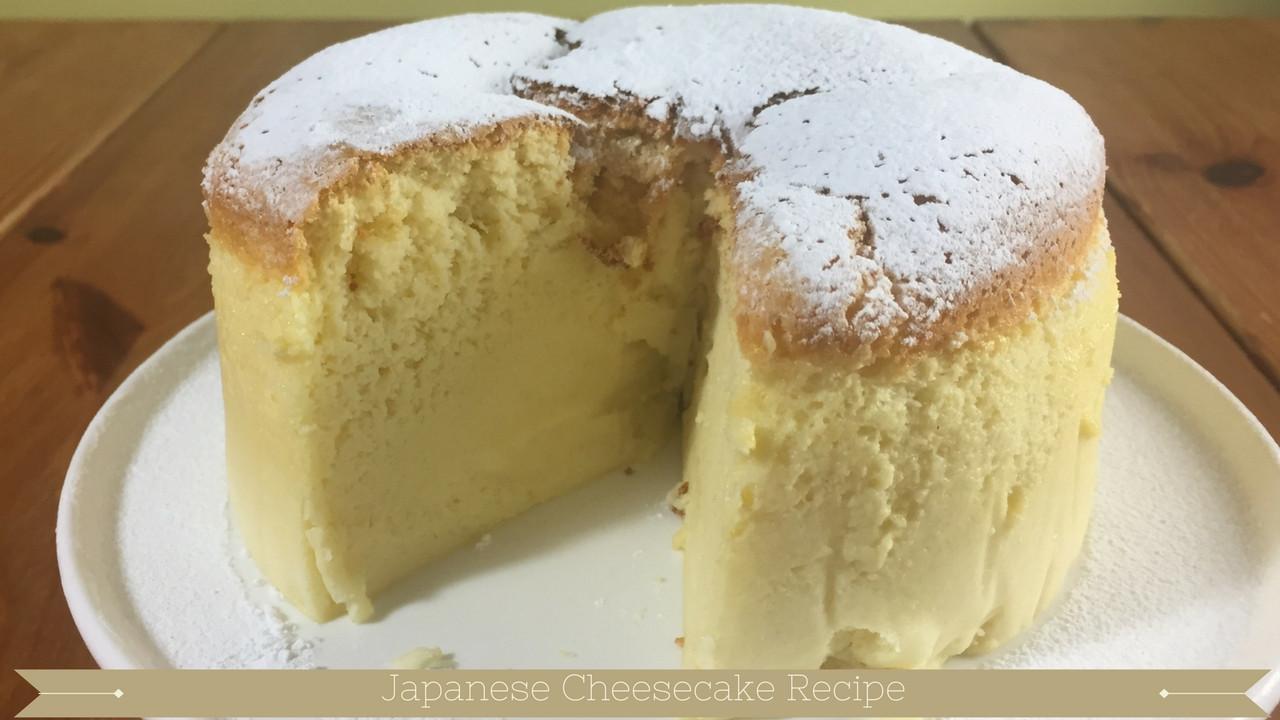 Jiggly Cheesecake Recipe  Japanese Cheesecake Jiggly Japanese cheesecake recipe