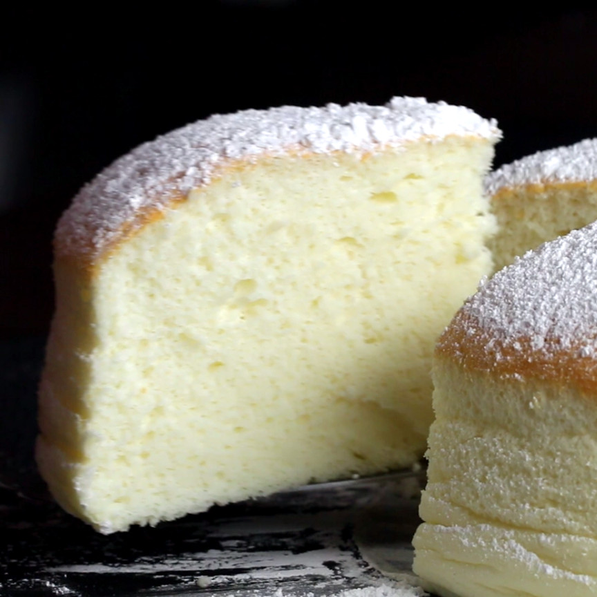 Jiggly Cheesecake Recipe  Fluffy Jiggly Japanese Cheesecake Recipe