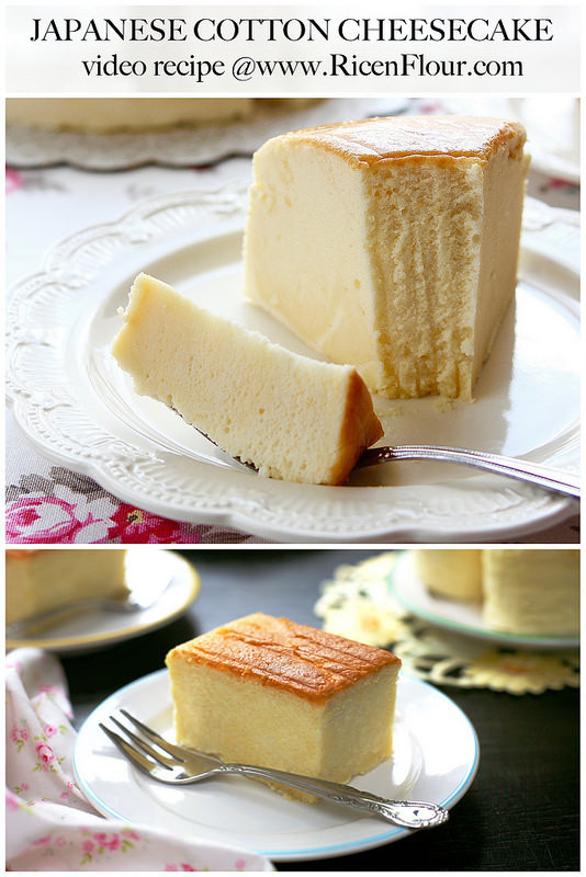 Jiggly Cheesecake Recipe  japanese cheesecake recipe in cups