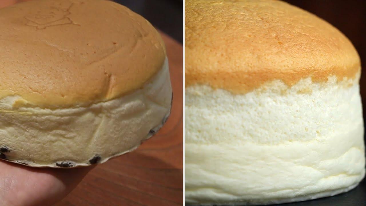 Jiggly Cheesecake Recipe  Restaurant vs Homemade Jiggly Cheesecake
