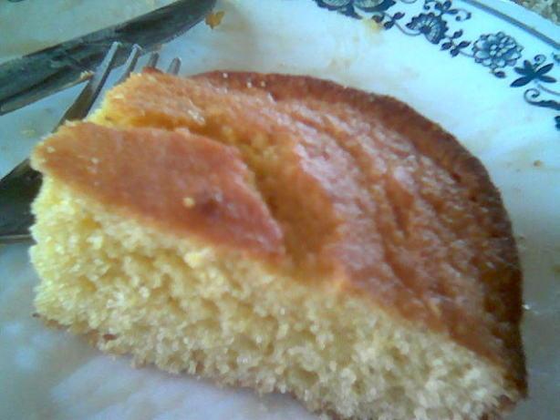 Johnny Cake Recipe  Pas Old Fashioned Johnny Cake Cornbread Recipe Breakfast