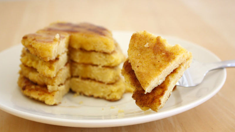 Johnny Cake Recipe  Johnny Cakes Recipe Tablespoon