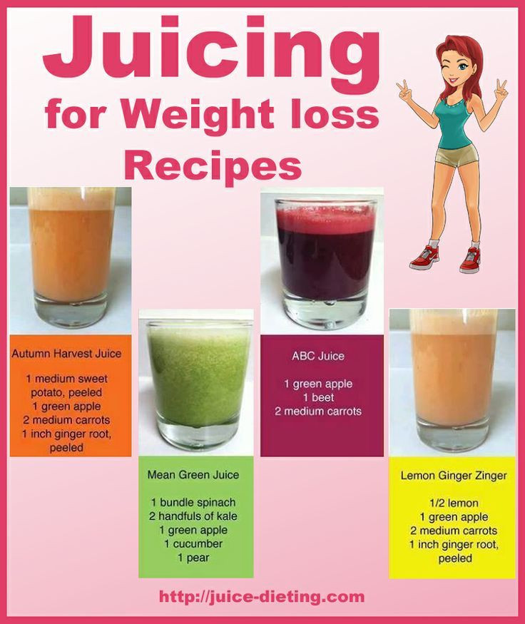 Juice Diet Recipes For Weight Loss  Juicing For Weight Loss Recipes s and