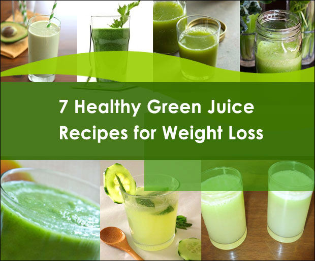Juice Diet Recipes For Weight Loss  7 Delicious Green Juice Recipes for Weight Loss