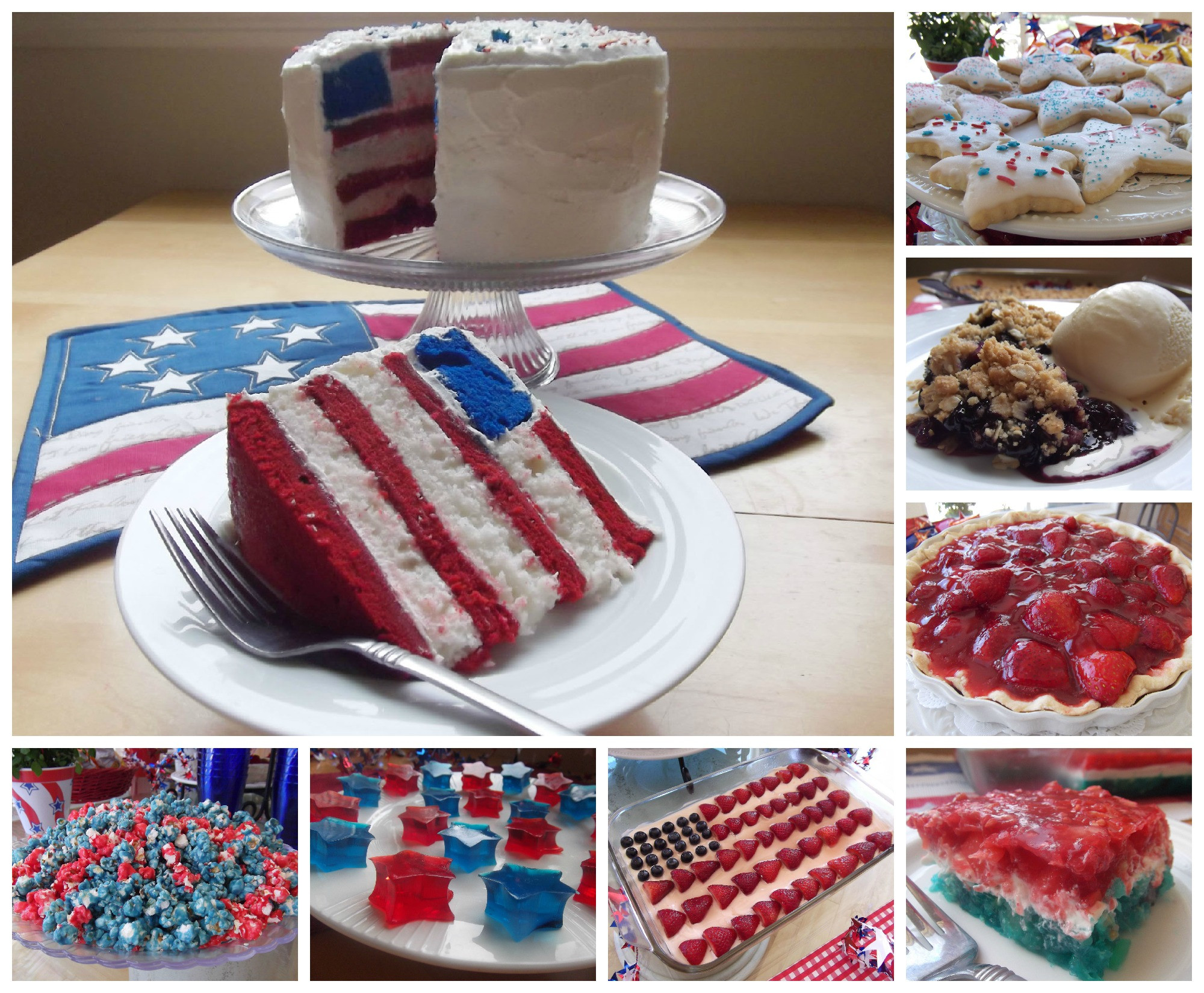 July 4Th Dessert Ideas  July 4th Dessert and Snack Ideas and Recipes
