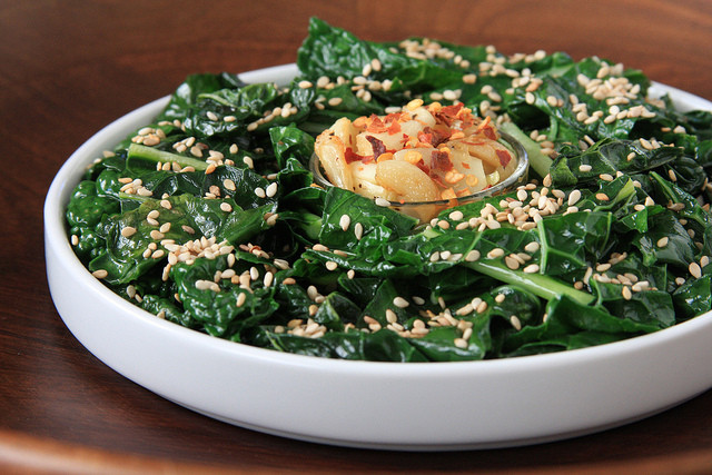 Kale Dinner Recipes  Garlicky Lacinato Kale