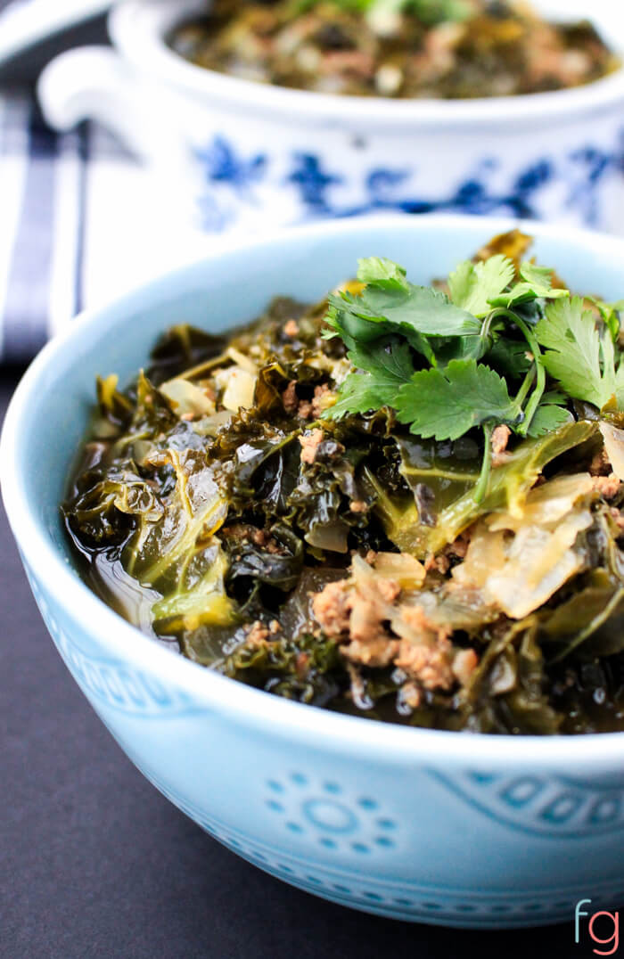 Kale Dinner Recipes  Beef and Kale Soup Recipe
