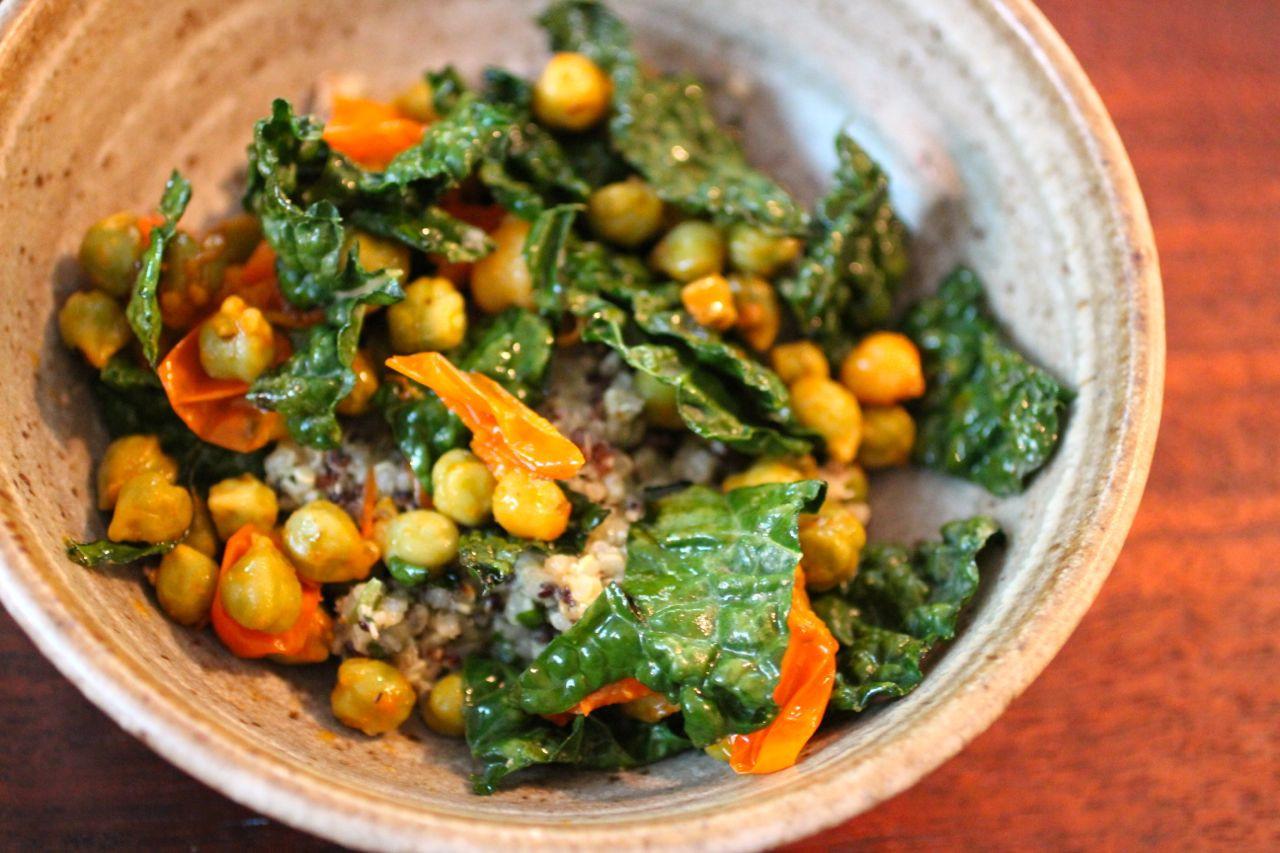 Kale Recipes Vegan  [Recipe] How to Make Vegan Fresh Kale Pesto Quinoa and
