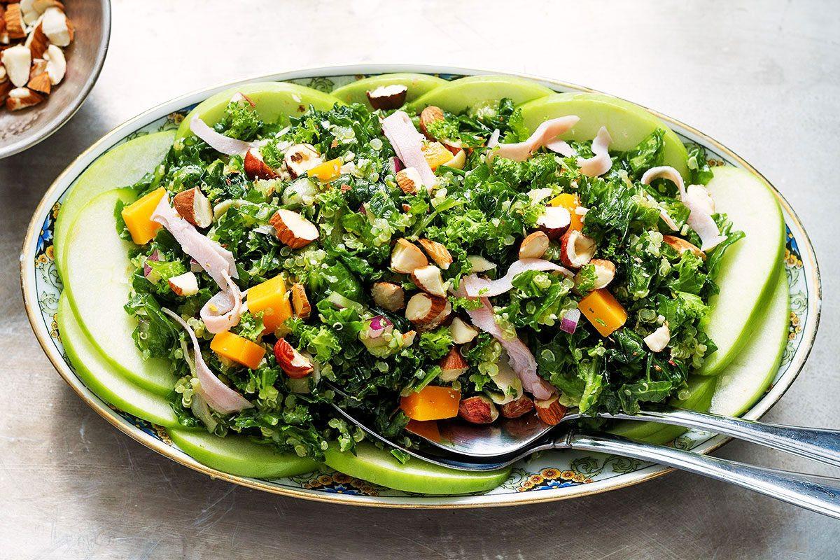 Kale Salad Recipes  kale salad dressing apple cider vinegar