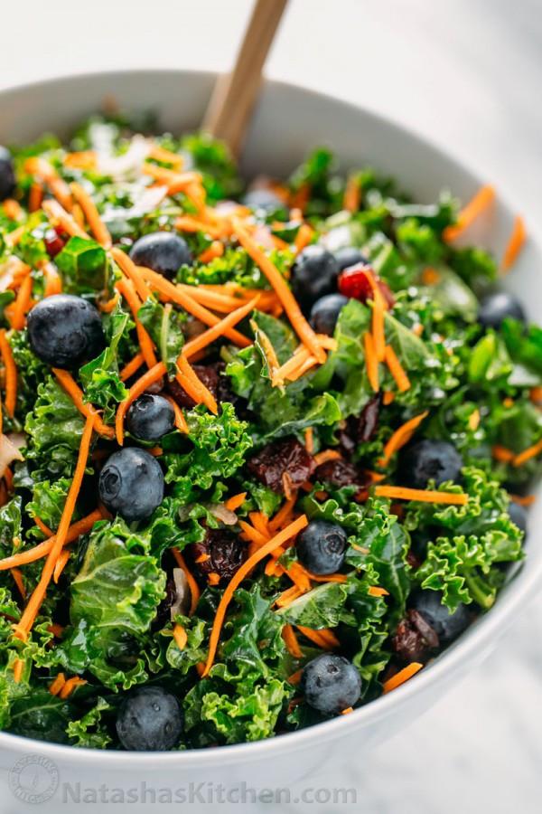 Kale Salad Recipes  walmart kale salad recipe