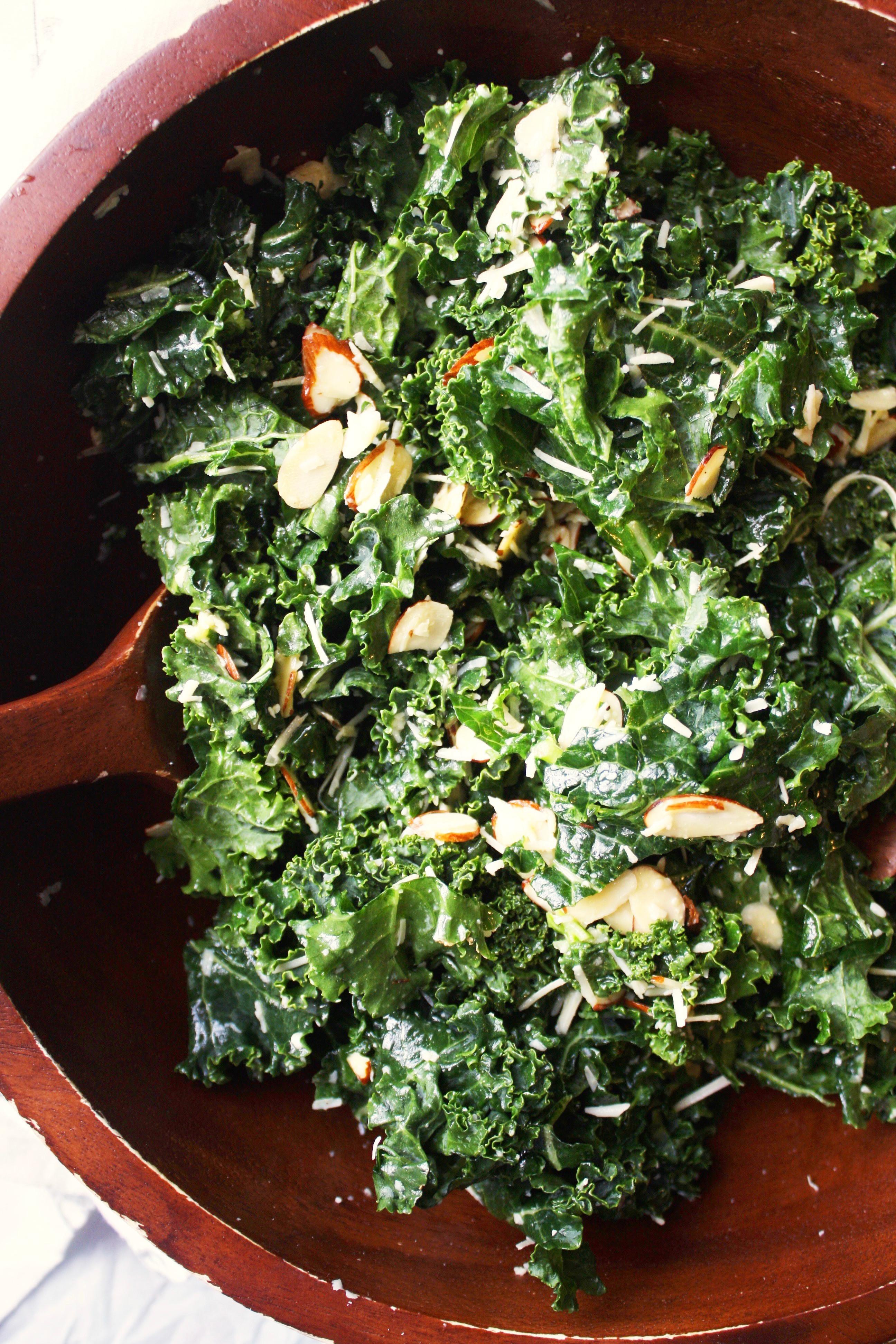 Kale Salad Recipes  spicy raw kale salad recipe