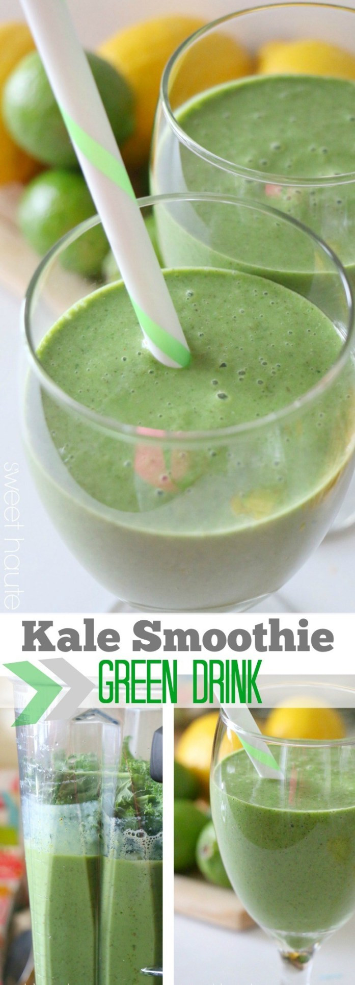 Kale Smoothie Recipes  Green Drink Kale Smoothie sweethaute