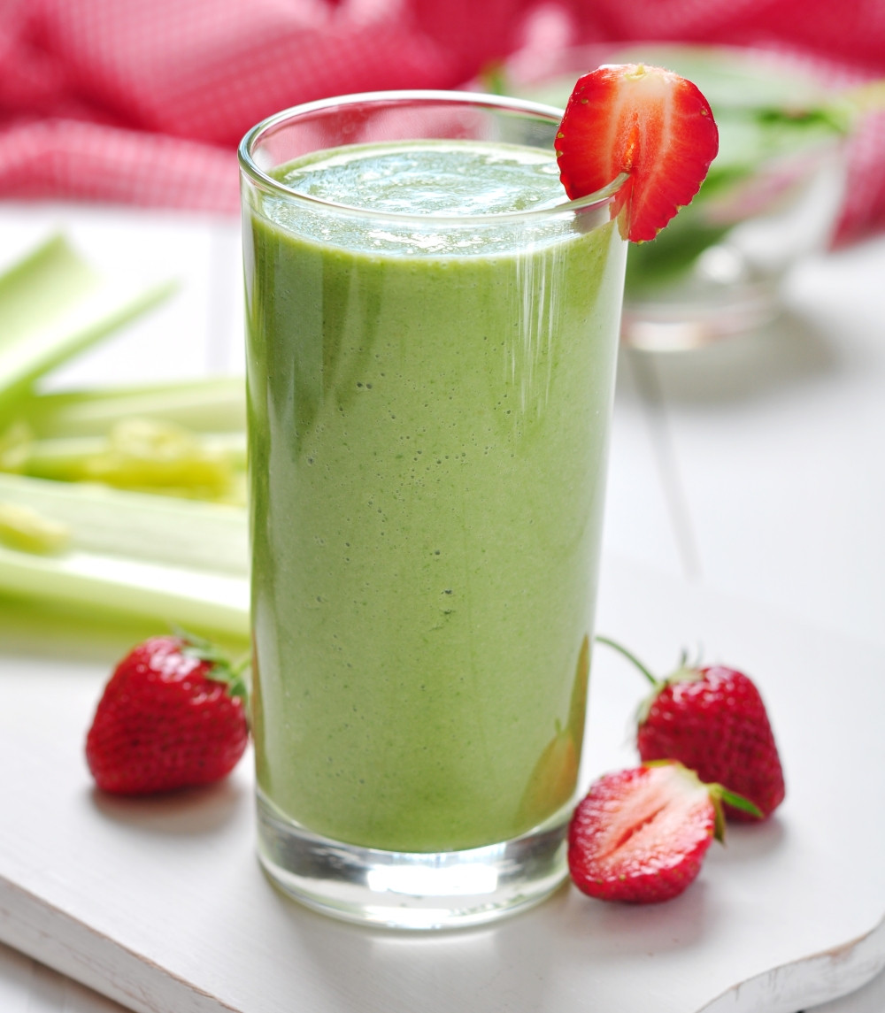 Kale Smoothie Recipes  Strawberry Kale Spinach Smoothie Pahl s Market Apple