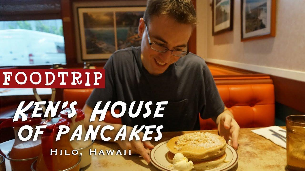Kens House Of Pancakes  Hawaii Foodtrip Macadamia Nut Pancakes & Saimin at Ken s