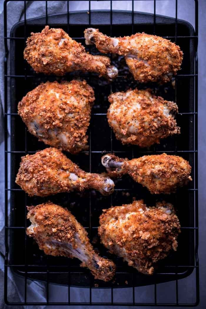 Keto Baked Chicken  Keto Fried Chicken Recipe Baked in Oven KETOGASM