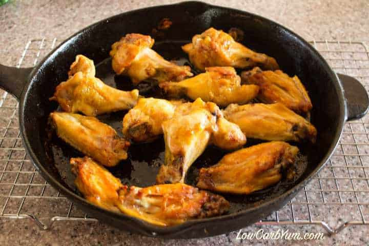 Keto Baked Chicken  Buttery Chili Lime Chicken Wings Gluten Free