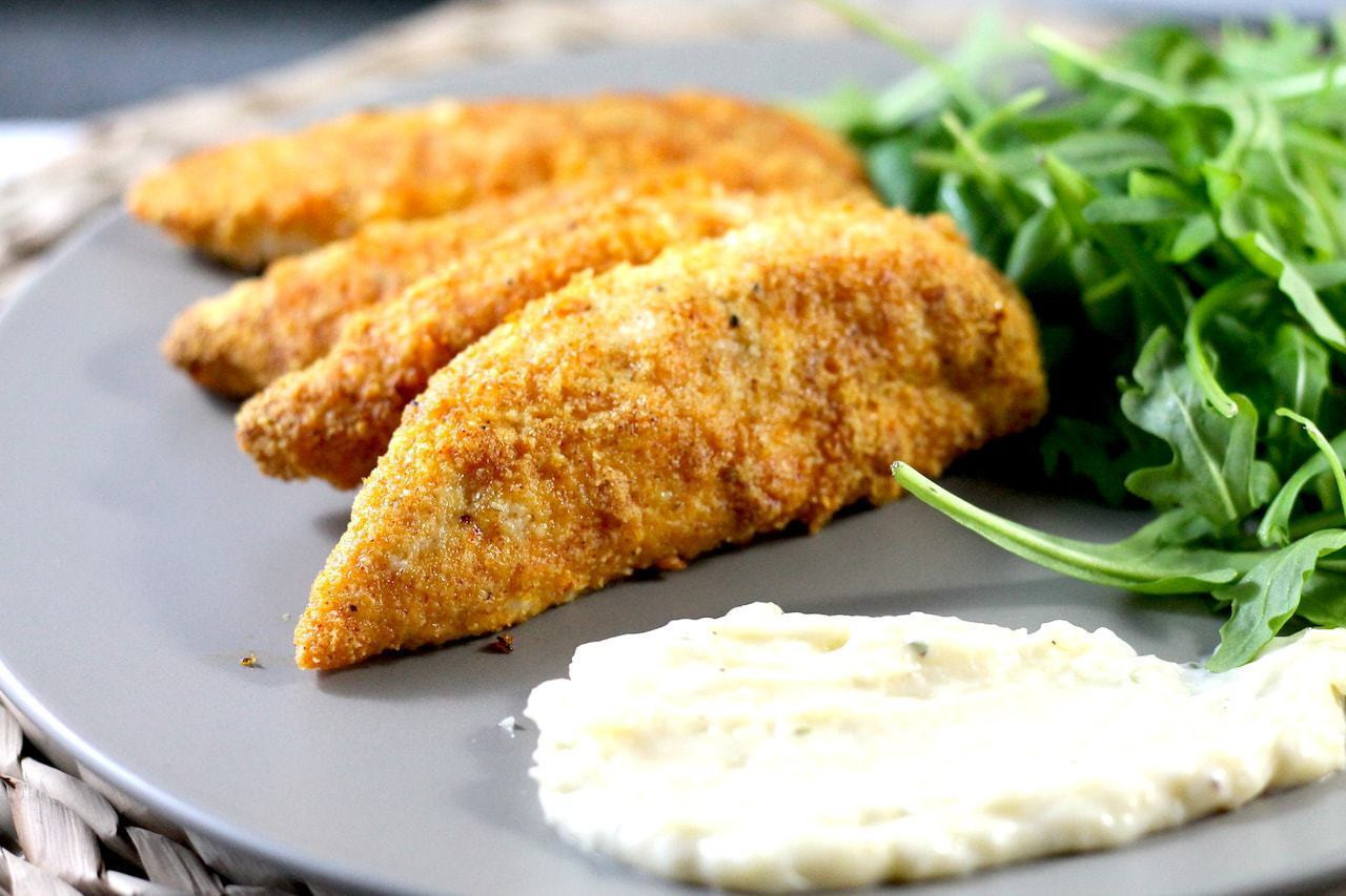 Keto Baked Chicken  Oven Baked Crispy Keto Chicken Tenders With Parmesan