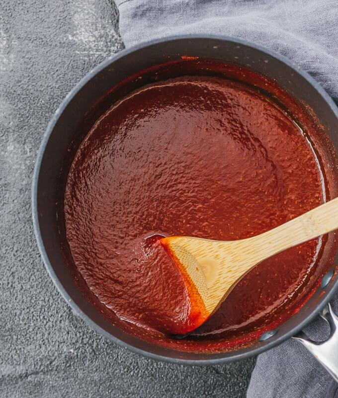 Keto Bbq Sauce  Keto BBQ Sauce Recipe Low Carb & Sugar Free Savory Tooth