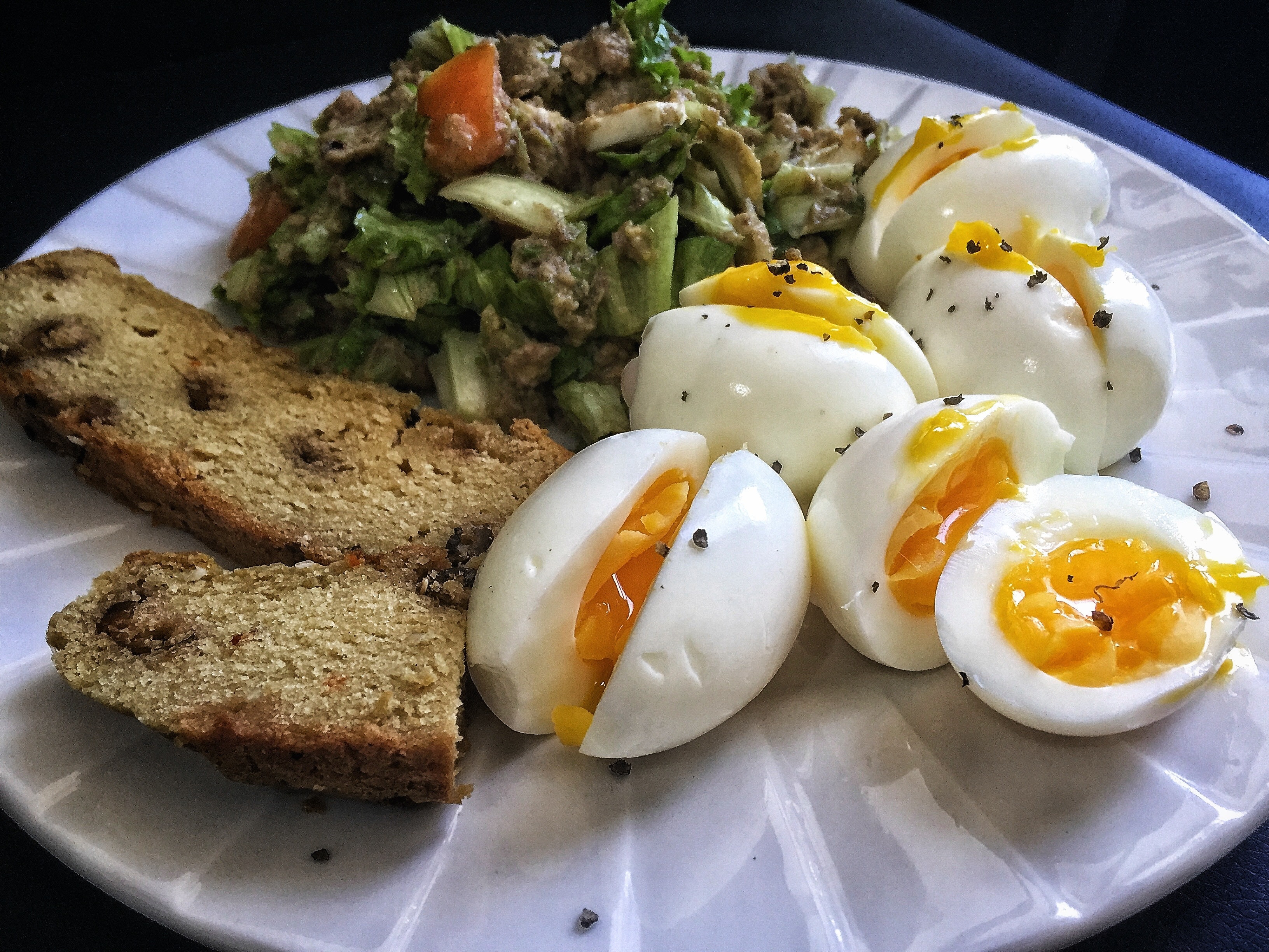 Keto Breakfast Eggs  Boiled Eggs and Sardines Salad for Keto Breakfast – Zaneta