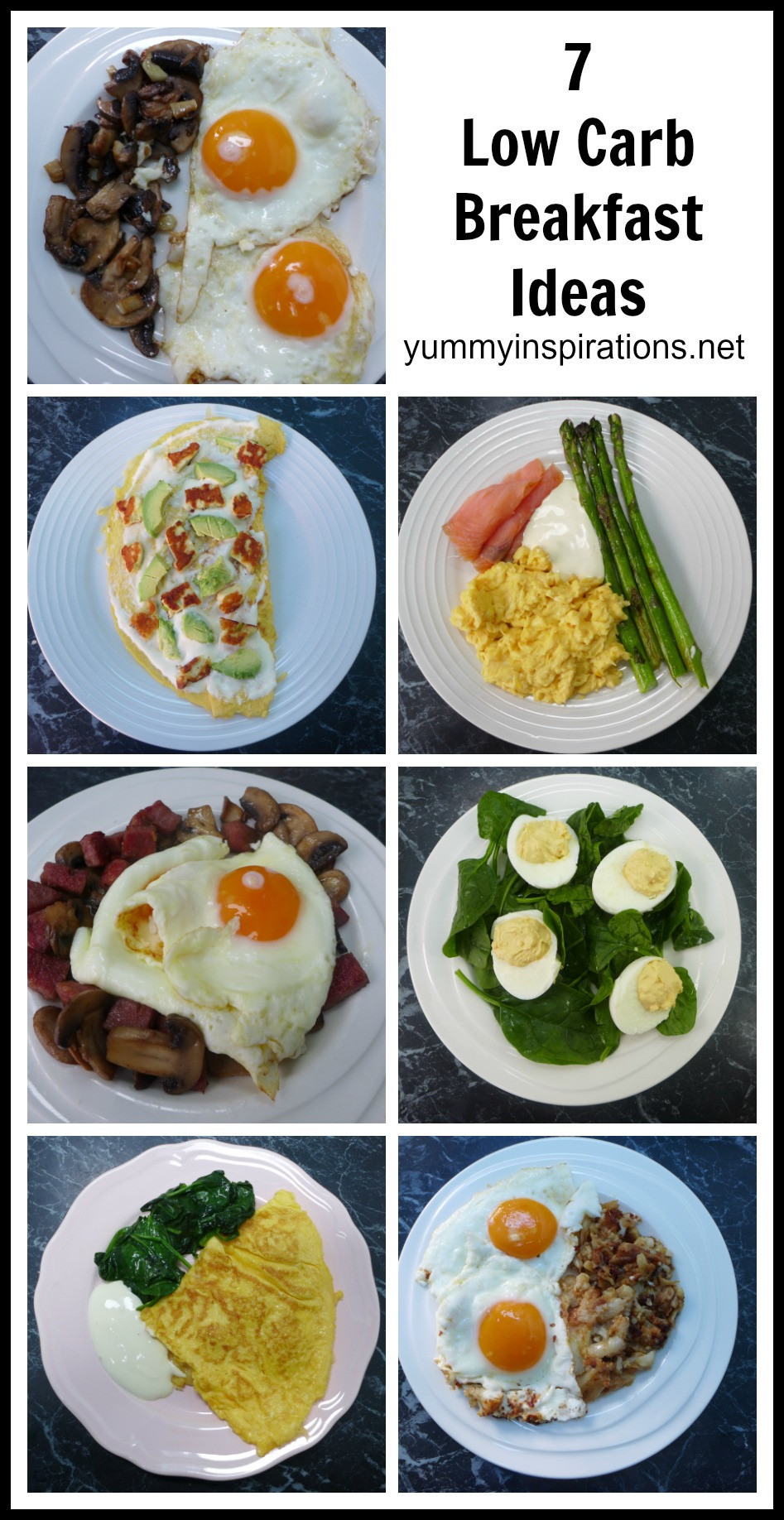 Keto Breakfast Recipes  7 Low Carb Breakfast Ideas A week of Keto Breakfast Recipes