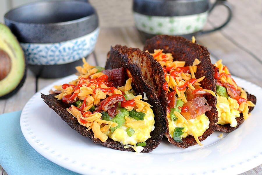Keto Breakfast Recipes  Keto Breakfast Tacos