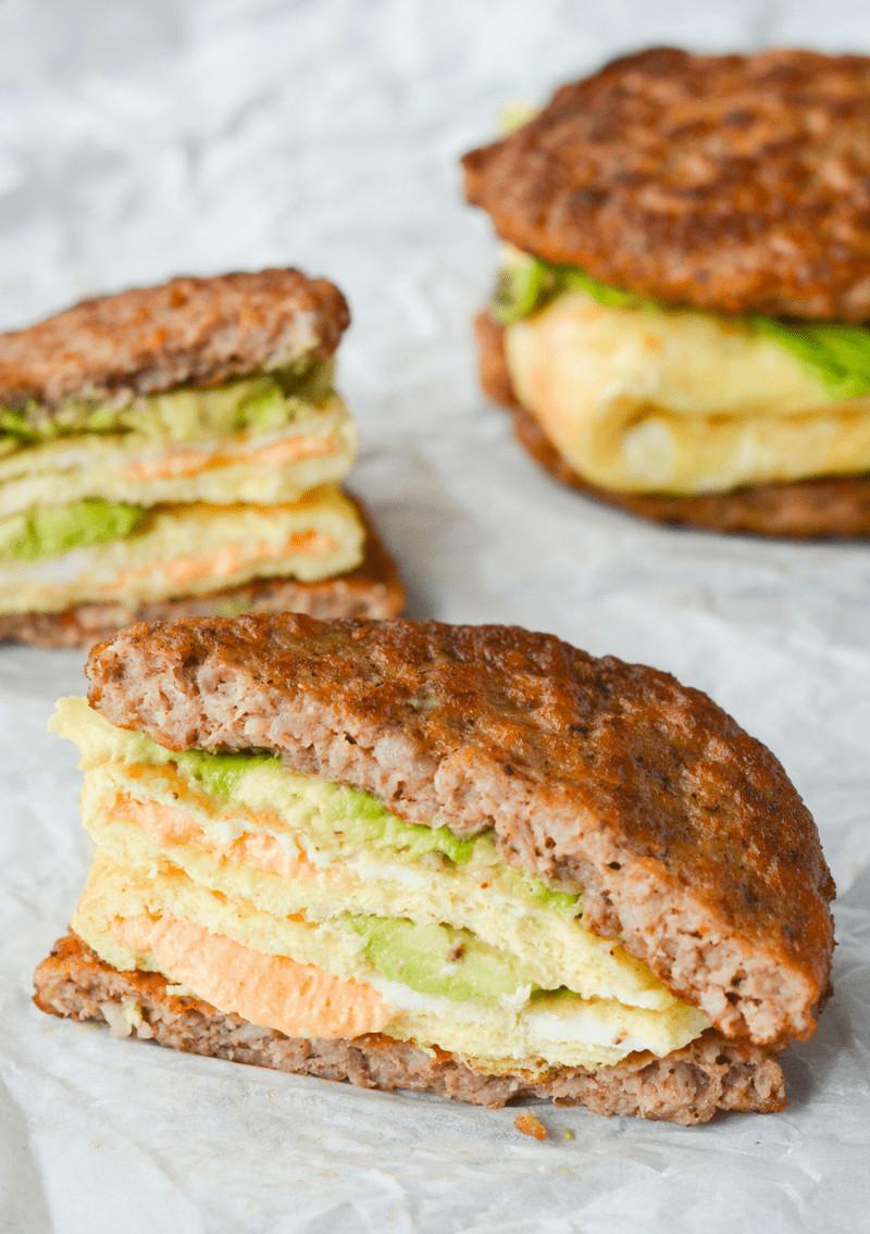 Keto Breakfast Recipes  My Favorite Keto Breakfast Sandwich Hey Keto Mama