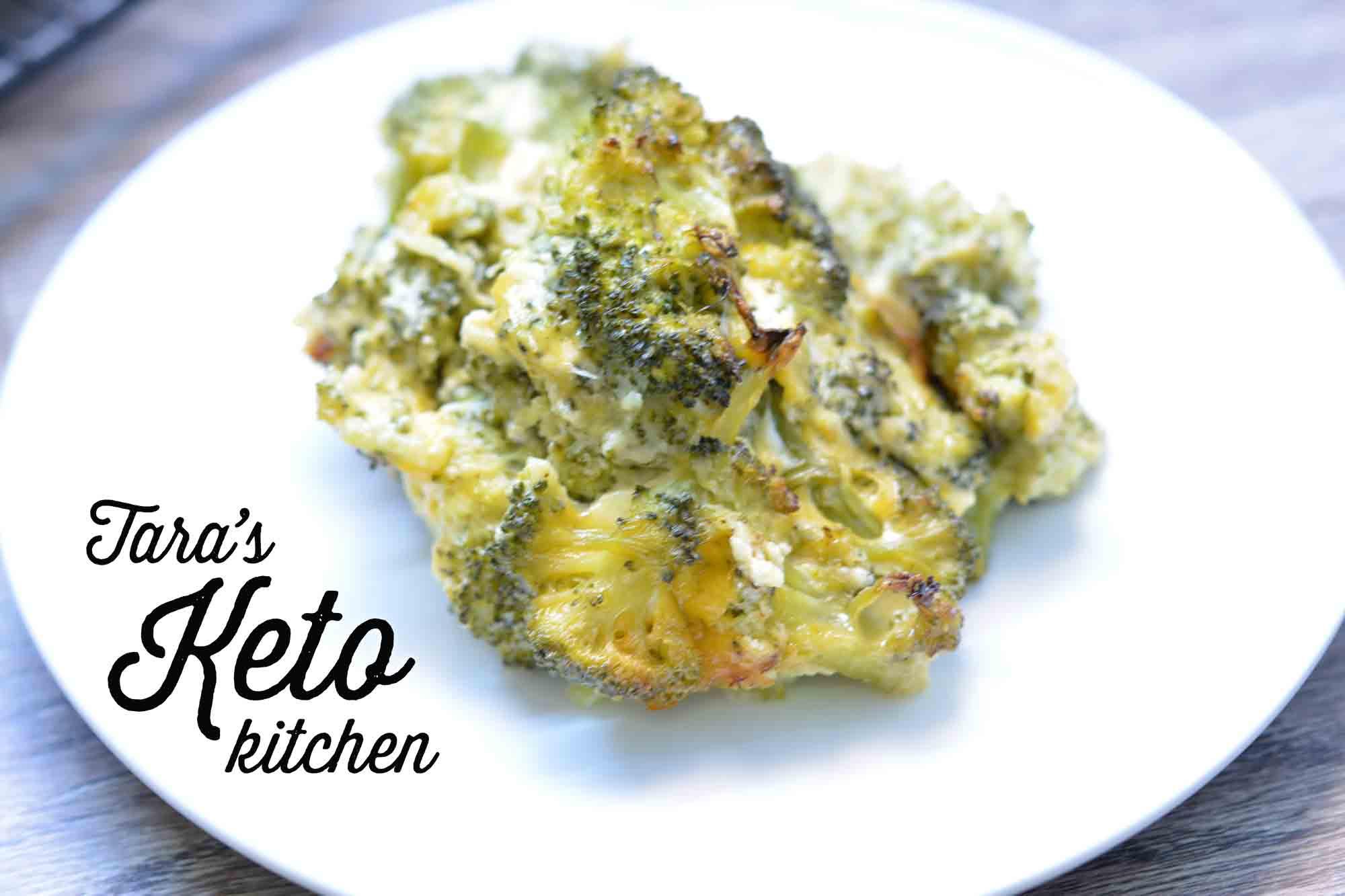 Keto Broccoli Casserole  Keto Cheesy Broccoli Casserole Low Carb
