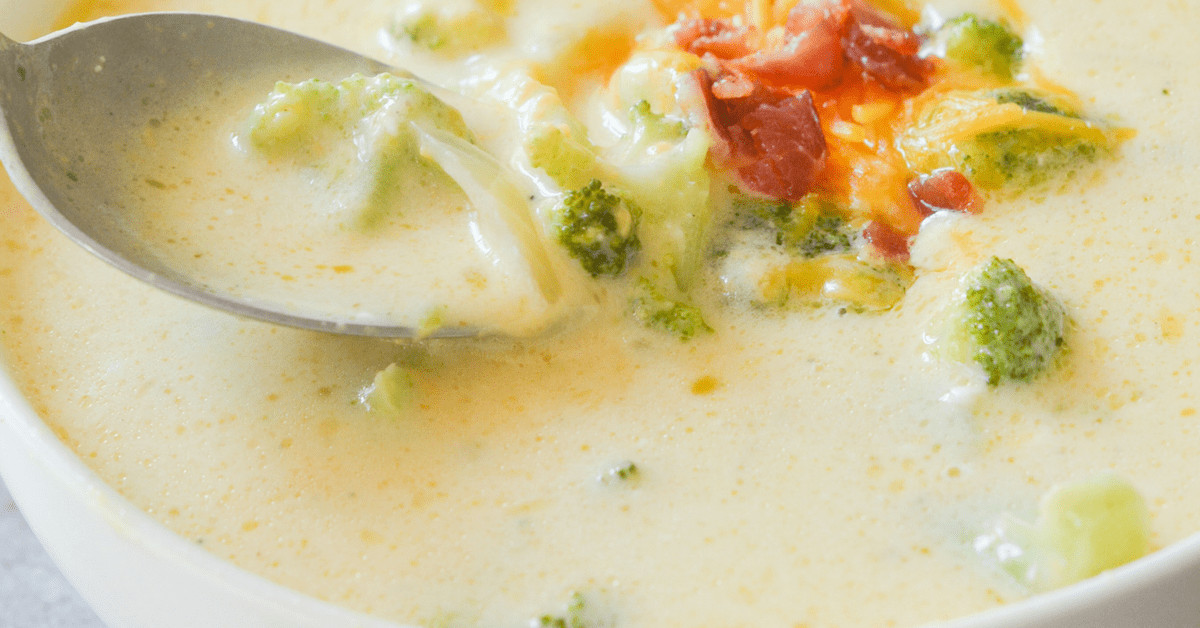 Keto Broccoli Soup  Keto Broccoli Cheddar Soup Hey Keto Mama