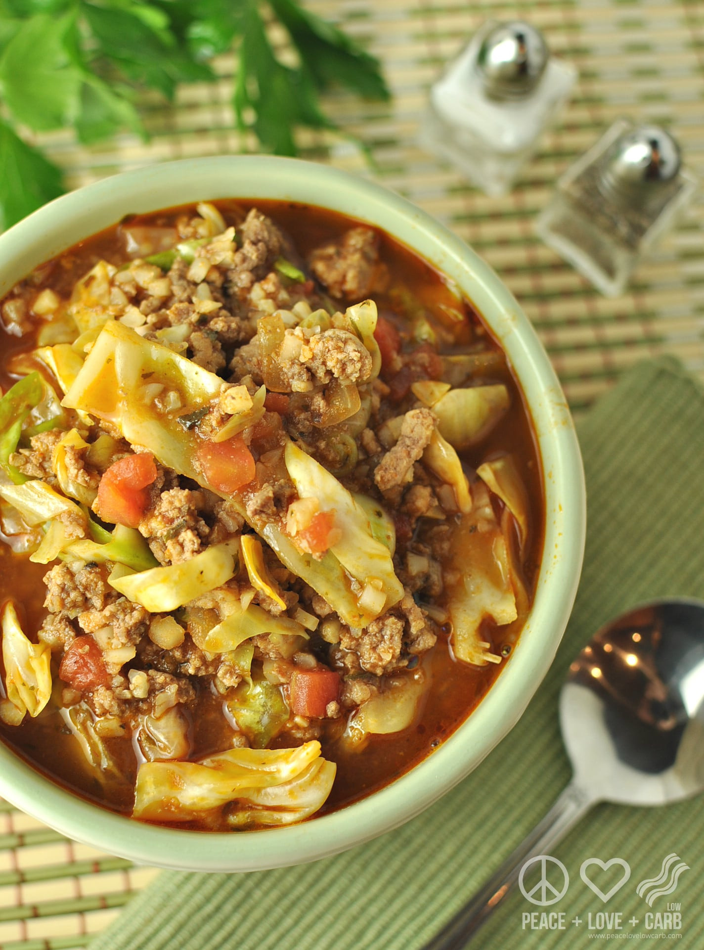 Keto Cabbage Soup  Keto Cabbage Roll Soup