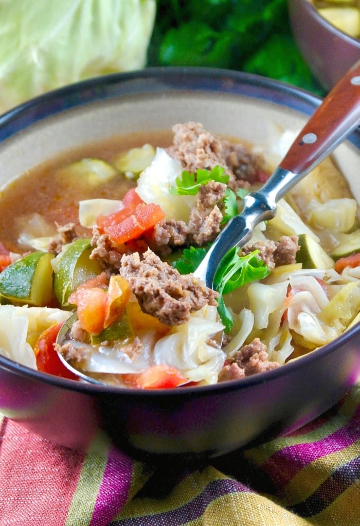 Keto Cabbage Soup  Beef Cabbage Soup