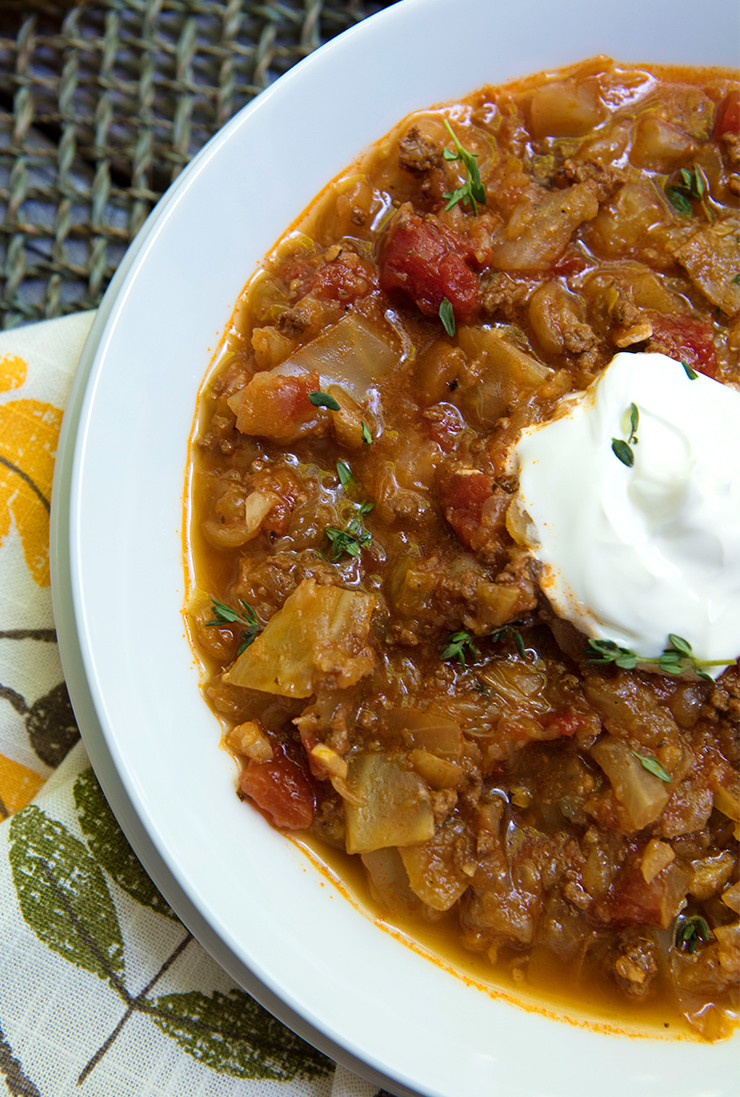 Keto Cabbage Soup  Instant Pot Cabbage Roll Soup Keto Paleo – Italian Food