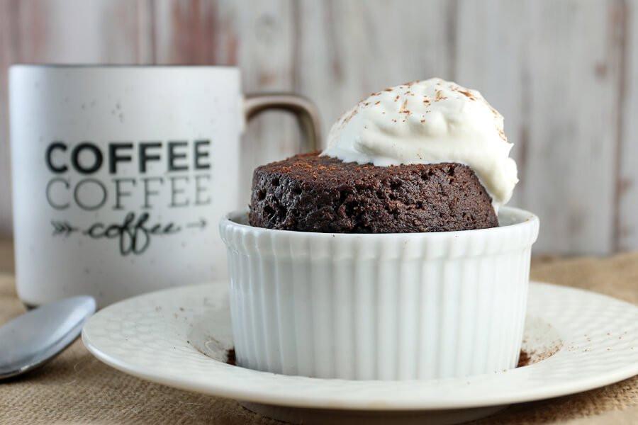 Keto Cake In A Mug  Keto Chocolate Cake in a Mug