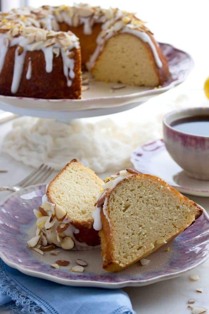 Keto Cake Recipes  Low Carb Bundt Cake with Lemon Glaze