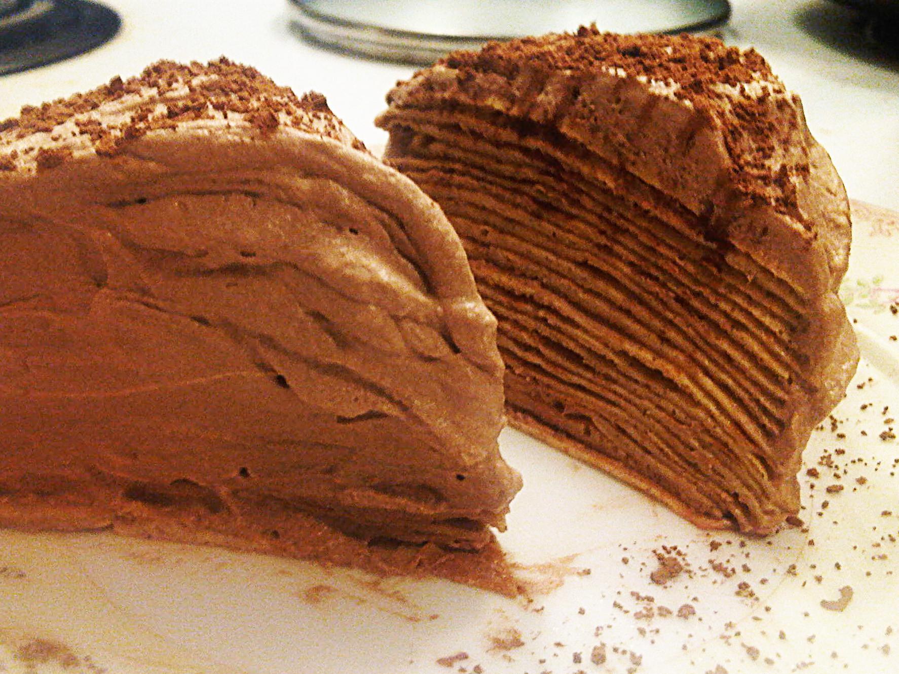 Keto Cake Recipes  Mille crepe Cake