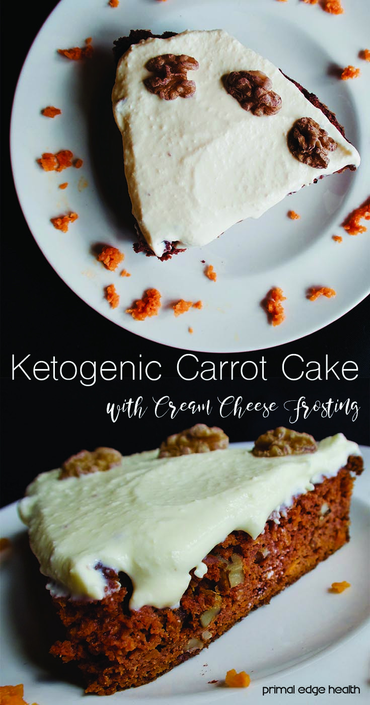 Keto Cake Recipes  Ketogenic Carrot Cake with Cream Cheese Frosting Primal
