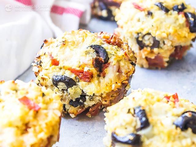 Keto Cauliflower Pizza  Mediterranean egg muffins Recipes
