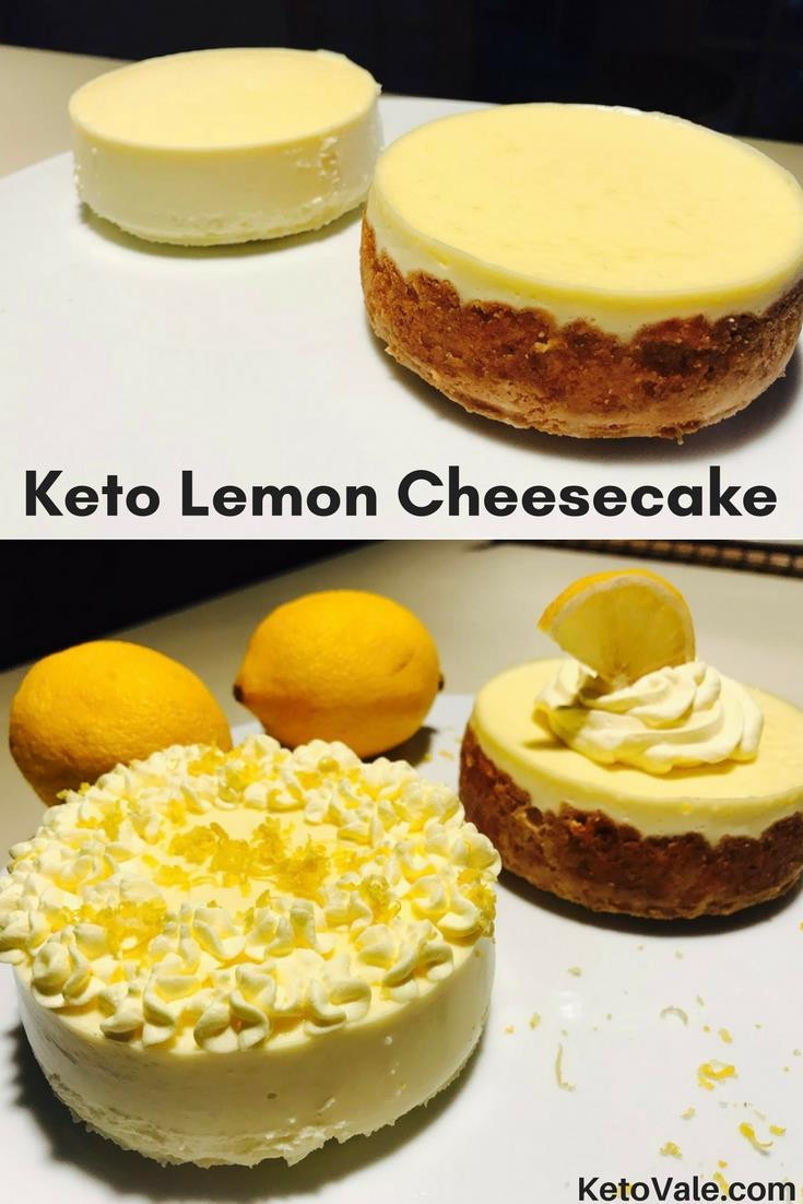 Keto Cheesecake Recipe  Keto Cheesecake No Crust
