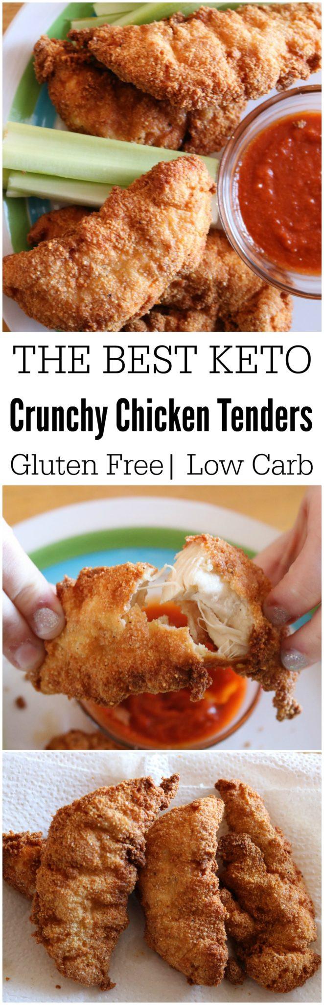 Keto Chicken Tenders  Keto Chicken Tenders Simple Juicy Crunchy Everyone