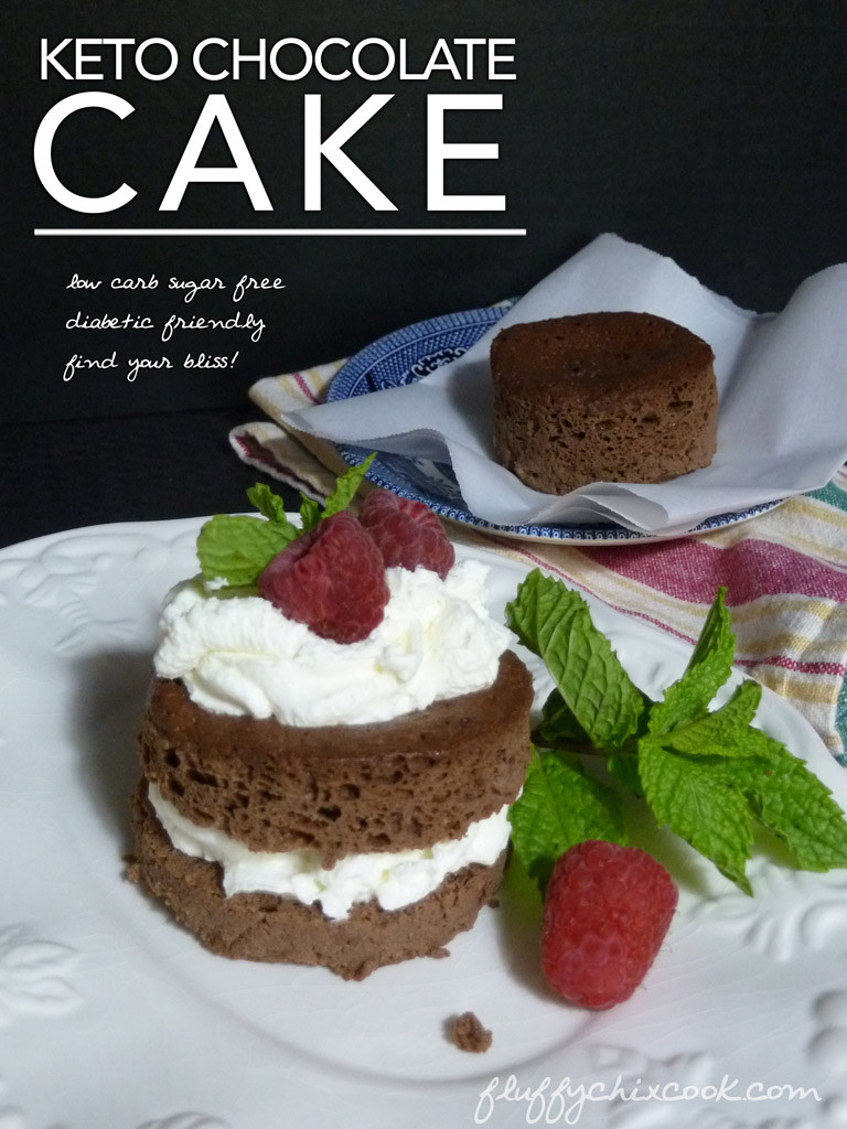 Keto Chocolate Cake Recipe  Keto Chocolate Cake