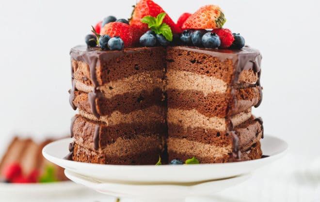 Keto Chocolate Cake Recipe  Keto Chocolate Cake Cooking LSL