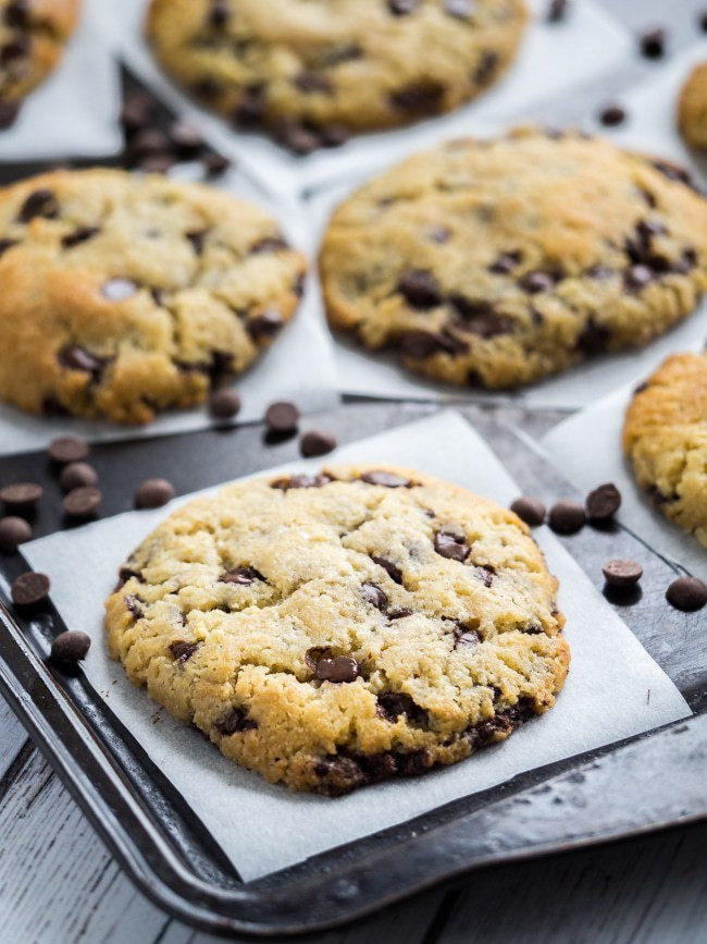 Keto Chocolate Chip Cookies  Keto Chocolate Chip Cookies Best Low Carb Super Soft Cookies