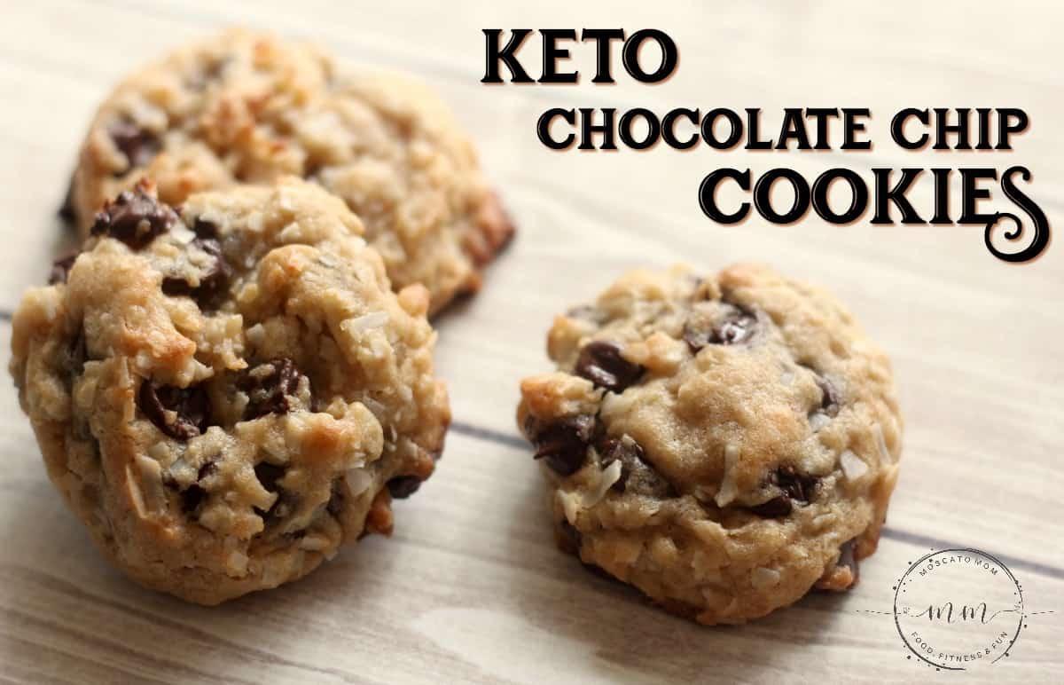 Keto Chocolate Chip Cookies  Simple Keto Chocolate Chip Cookies Recipe