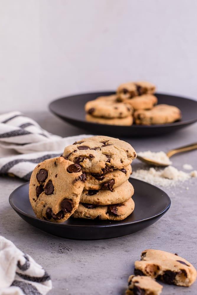 Keto Chocolate Cookies  Healthy Keto Friendly Chocolate Chip Cookies — Peanut