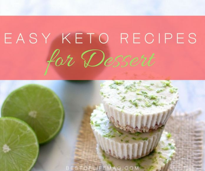 Keto Christmas Desserts  Easy Keto Dessert Recipes to Diet Happily The Best of