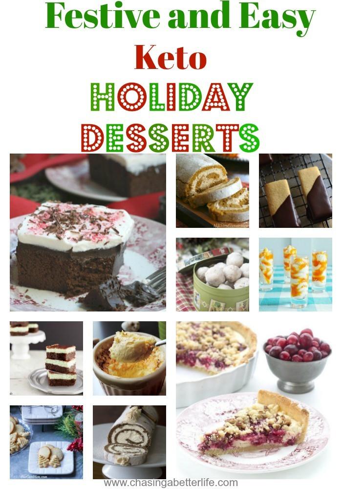 Keto Christmas Desserts  10 Festive and Easy Keto Holiday Desserts