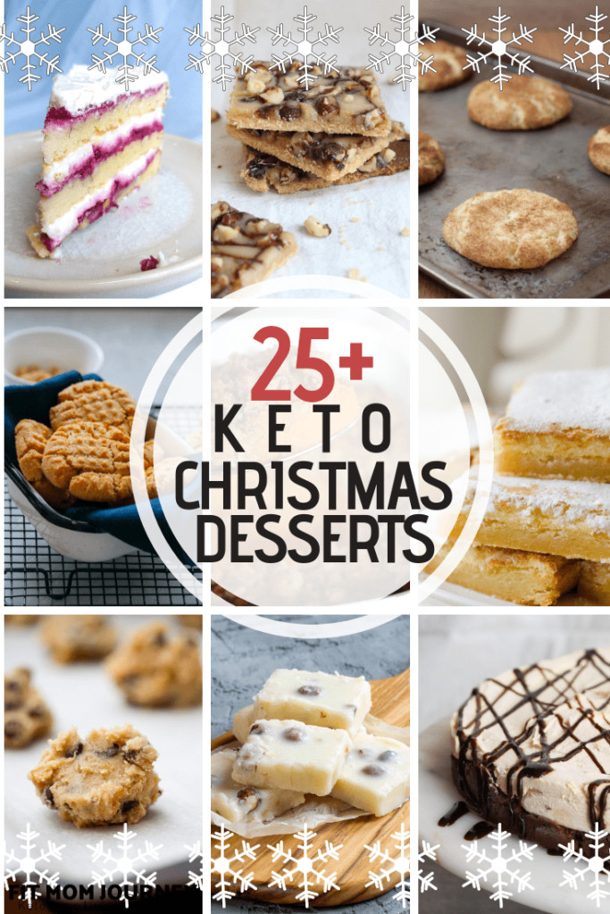 Keto Christmas Desserts  Keto Christmas Desserts Fit Mom Journey