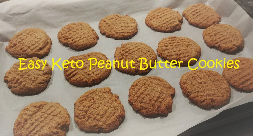 Keto Cookies Peanut Butter  Easy Keto Peanut Butter Cookies TryKetoWith Me