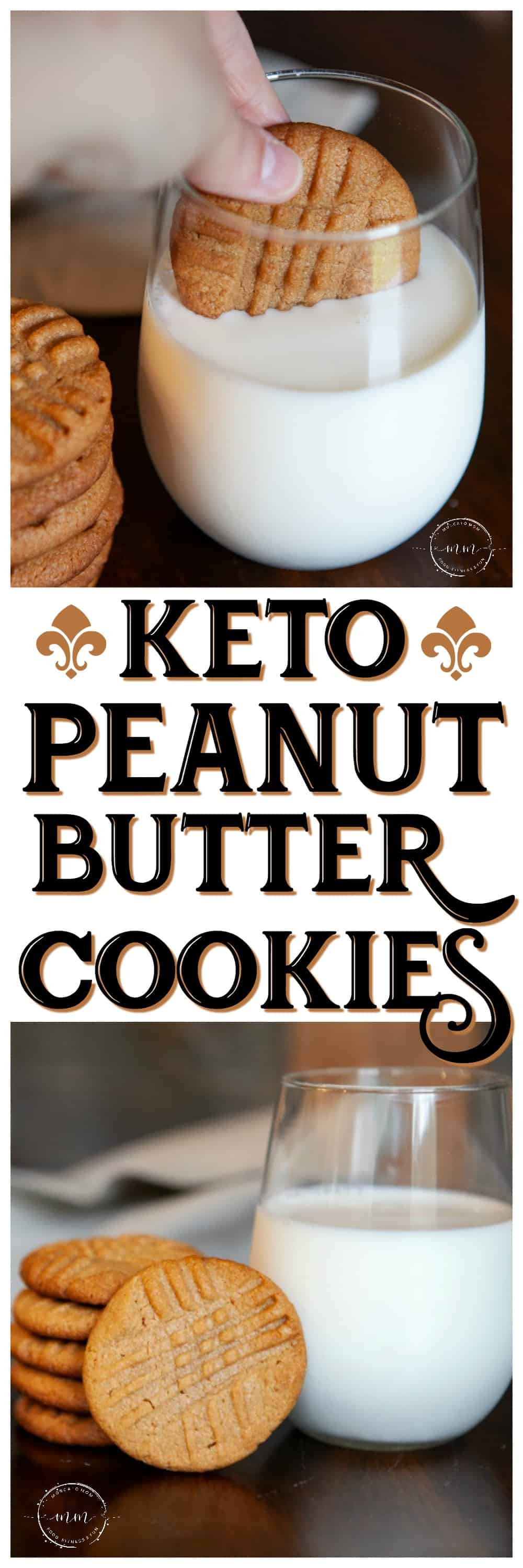 Keto Cookies Peanut Butter  Easy Three Ingre nt Keto Peanut Butter Cookies